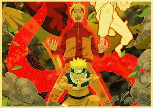 [Sale] Naruto Shippuden Poster (Buy 3 Get 1 Free)