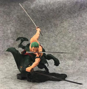 FREE One Piece Anime Zoro Action Figure