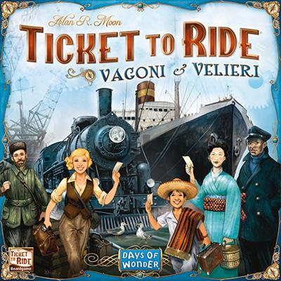 Ticket to Ride Vagoni & Velieri