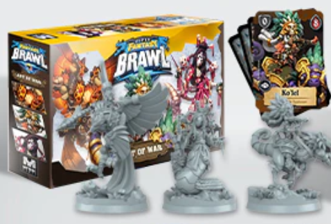 Super Fantasy Brawl - Esp. Art of War