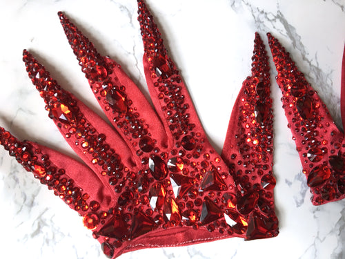 Deluxe Scarlet Devil Gloves