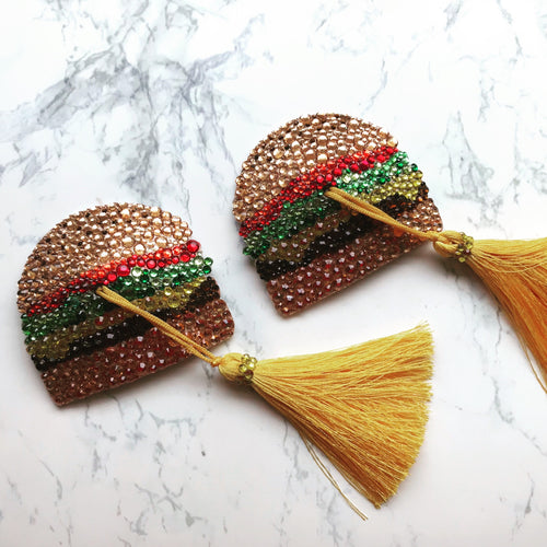 Cheeseburger Nipple Tassels