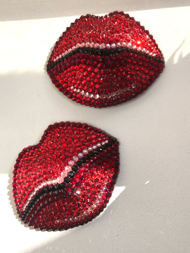 Kissy Lip Nipple Pasties or Tassels