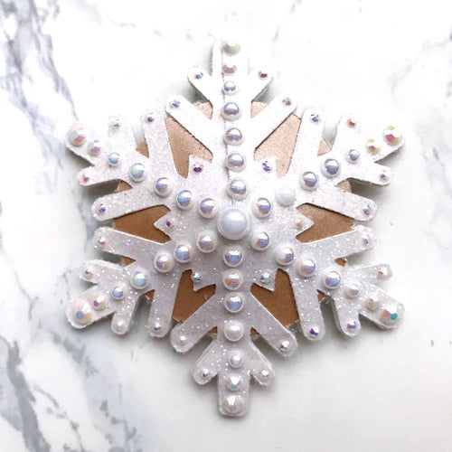 Snowflake Nipple Pasties