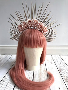 Ethereal Rose Crown