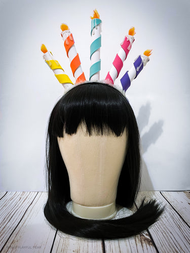 Birthday Cake Candle Headpiece