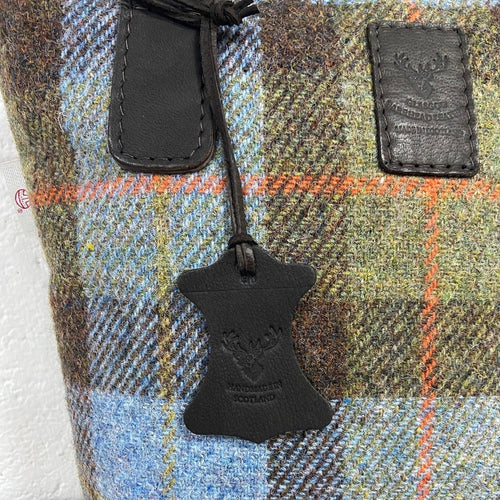Harris Tweed & Deerskin Leather Lulu Bag