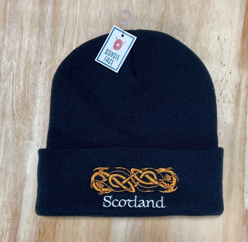Celtic Dragons Scotland Beanie Hat