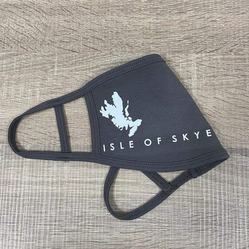 Face Covering with Isle of Skye Map print
