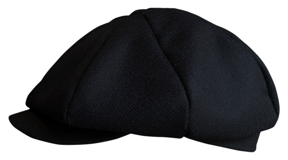 Baker Boy Cap - Black