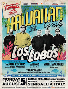 hawaiian party locandina summer jamboree 2019 edizione 20