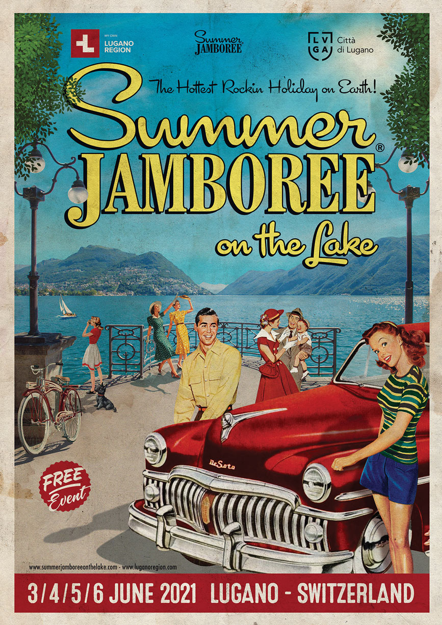 locandina ufficiale summer jamboree on the lake 2021 lugano svizzera