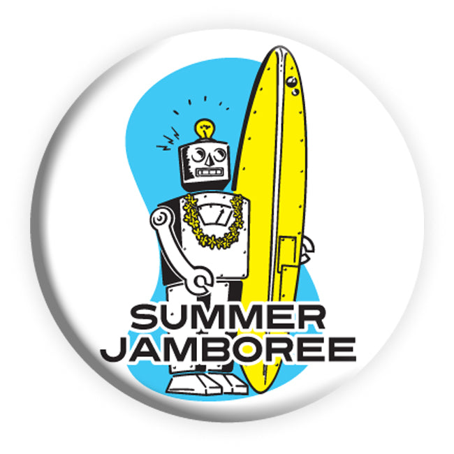 Robot Surf Badge