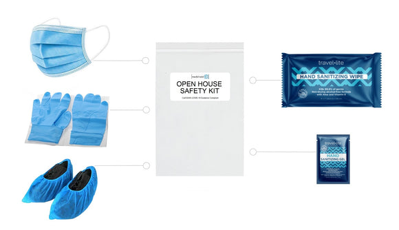 Open House Safety Kit for Real Estate - Pack of 50 ($3.50/unit)