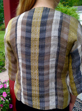 Load image into Gallery viewer, Riverweave Handwoven Cropped Jacket