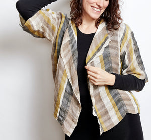 Riverweave Handwoven Cropped Jacket