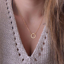 Load image into Gallery viewer, Circle Necklace Choker