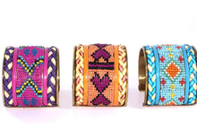 Load image into Gallery viewer, Beaded Cuff Bangles