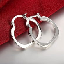 Load image into Gallery viewer, Mini Small Hoop Earring in 18K White Gold Plated