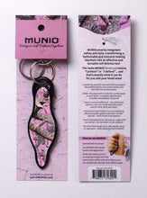 Load image into Gallery viewer, Natural Camo PINK Self Defense Keychain