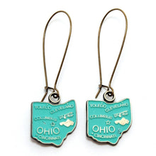 Load image into Gallery viewer, Ohio State Earring