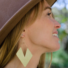 Load image into Gallery viewer, Aztec Brass Earrings