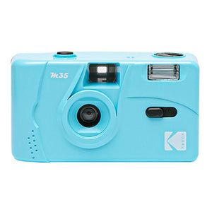 KODAK Vintage Retro M35 35mm Reusable Film Camera Pink/Green/Blue With FUJIFILM COLOR C200 135-36 35mm Film(Expiry 2022.10)