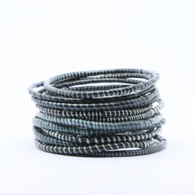Load image into Gallery viewer, BLACK BEACH BANGLES