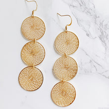 Load image into Gallery viewer, Dream Catcher Triple Earrings