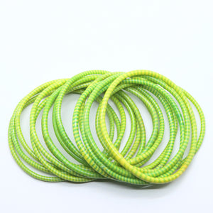 LEMON LIME BEACH BANGLES