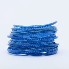 Load image into Gallery viewer, ROYAL BLUE BEACH BANGLES