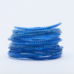 ROYAL BLUE BEACH BANGLES