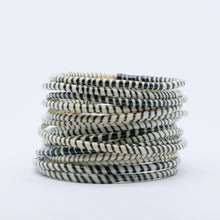 Load image into Gallery viewer, WHITE BEACH BANGLES