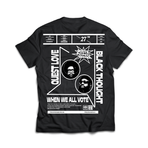 The Roots Picnic T-Shirt - Black