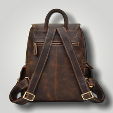 Load image into Gallery viewer, HENRY LEATHER BACKPACK