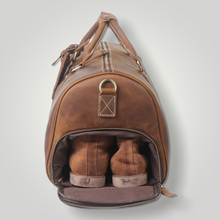 Load image into Gallery viewer, KENSINGTON LEATHER DUFFLE BAG