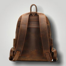 Load image into Gallery viewer, JUSTIN LEATHER BACKPACK