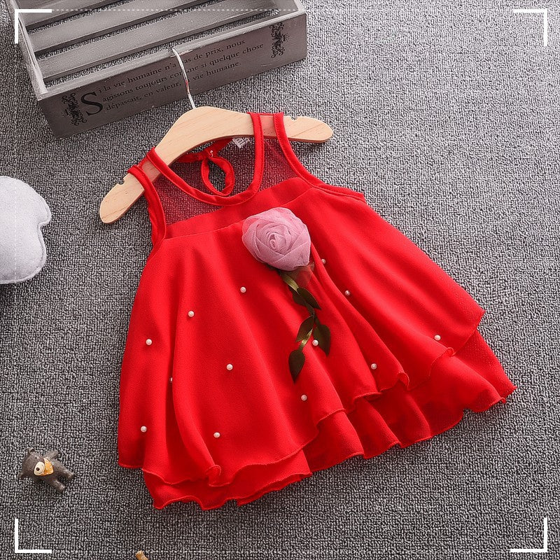 ROSE GIRL PARTY DRESS