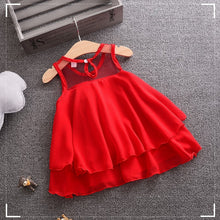 Load image into Gallery viewer, ROSE GIRL PARTY DRESS