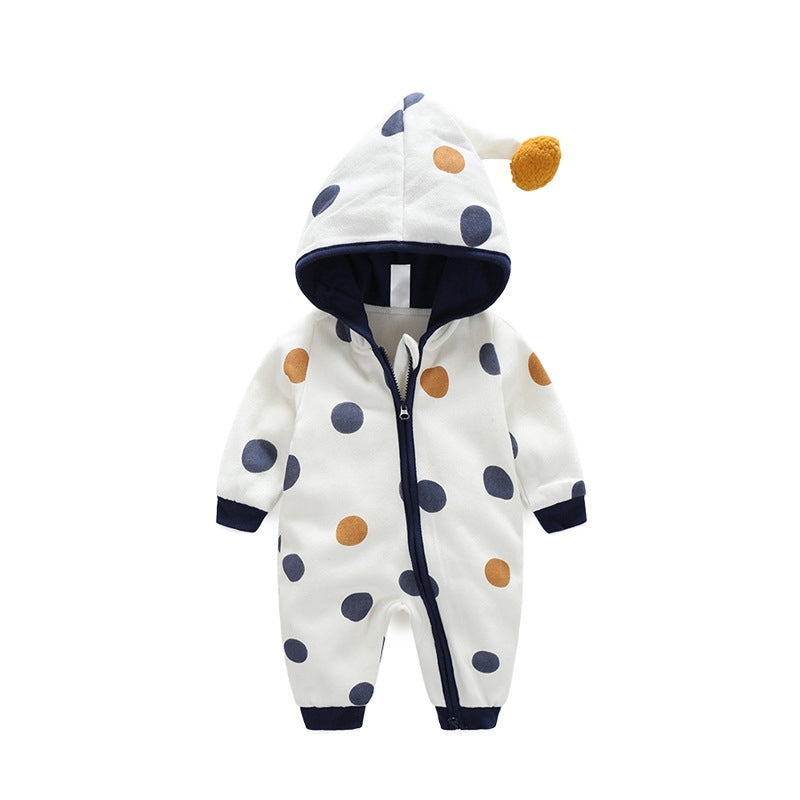 DOTTED SLEEPSUIT