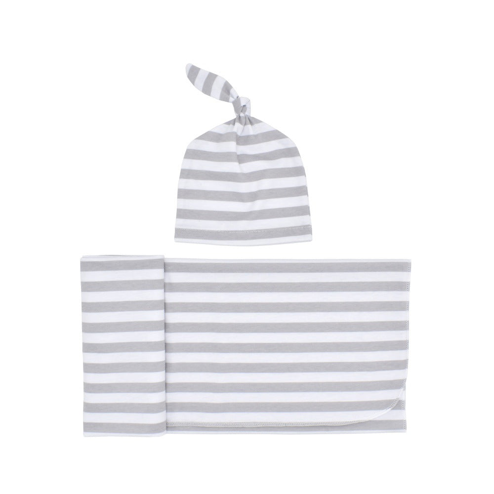 STRIPES BABY SWADDLE SET