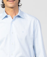 Camisa vestir Regular Fit en twill liso - Etiem