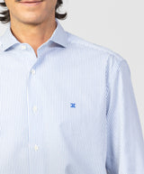 Camisa vestir Regular Fit de rayas - Etiem