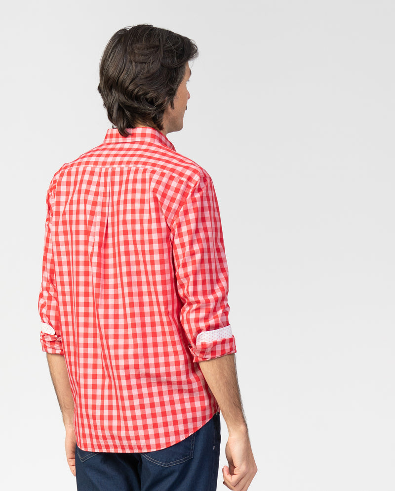 Camisa sport Regular Fit de cuadro damero - Etiem