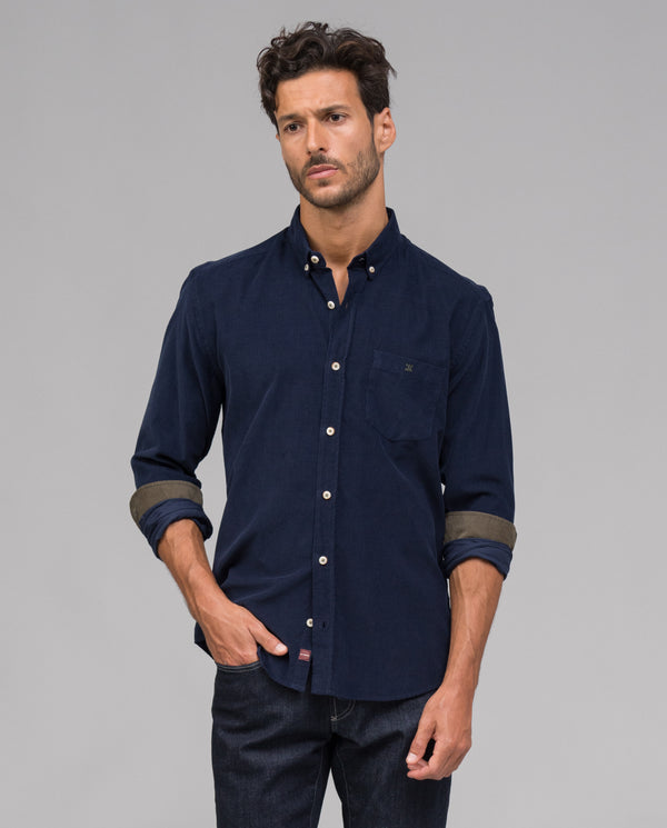 CAMISA SLIM FIT MICROPANA - Etiem