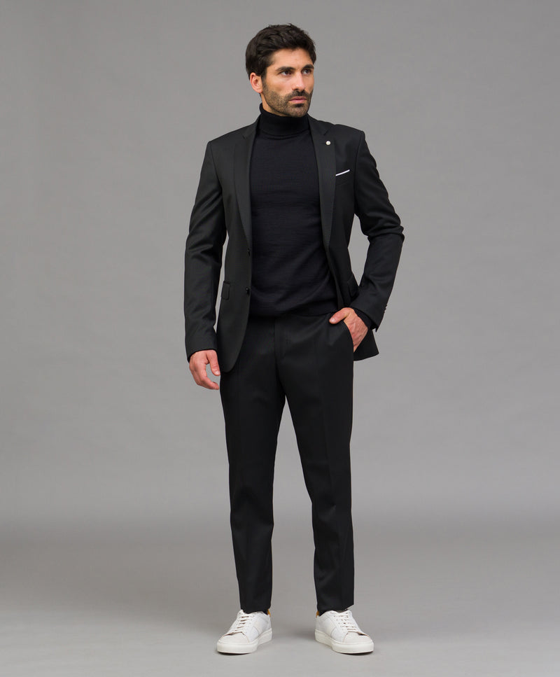 Traje regular fit liso - Etiem
