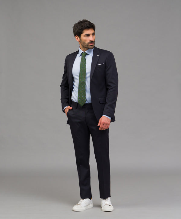 Traje slim fit liso - Etiem