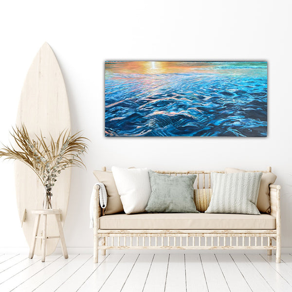 GOLDEN GLOW painting by artist Sandra Vincent