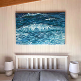 Take Me Away large abstract painting by Sandra Vincent