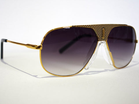 Neish Boss Aviator Sunglasses - Gold